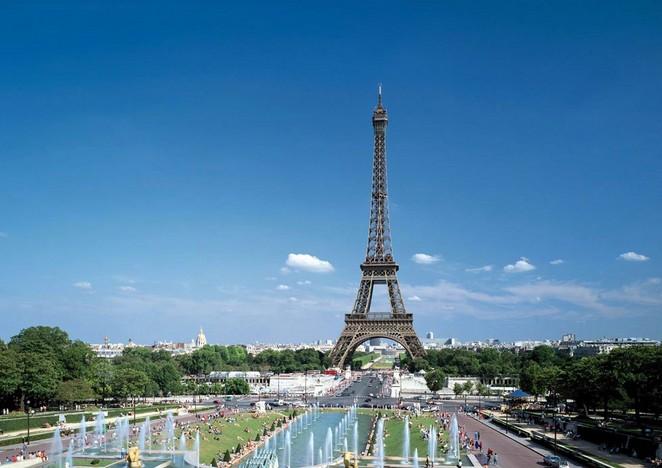 法国风景唯美意境图