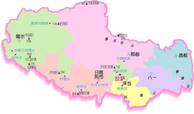 日喀则市城市规划图